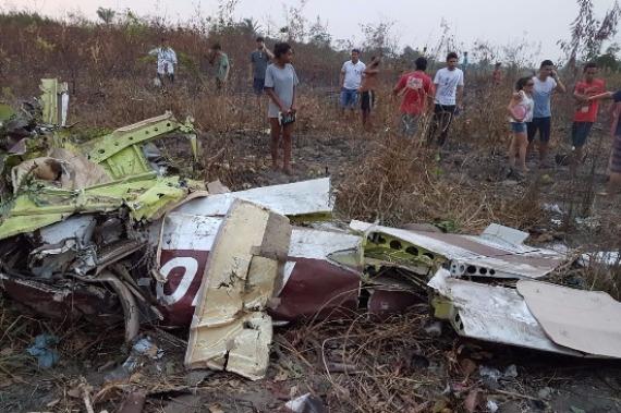 Seripa investiga queda de avião que matou cinco pessoas em Itaituba