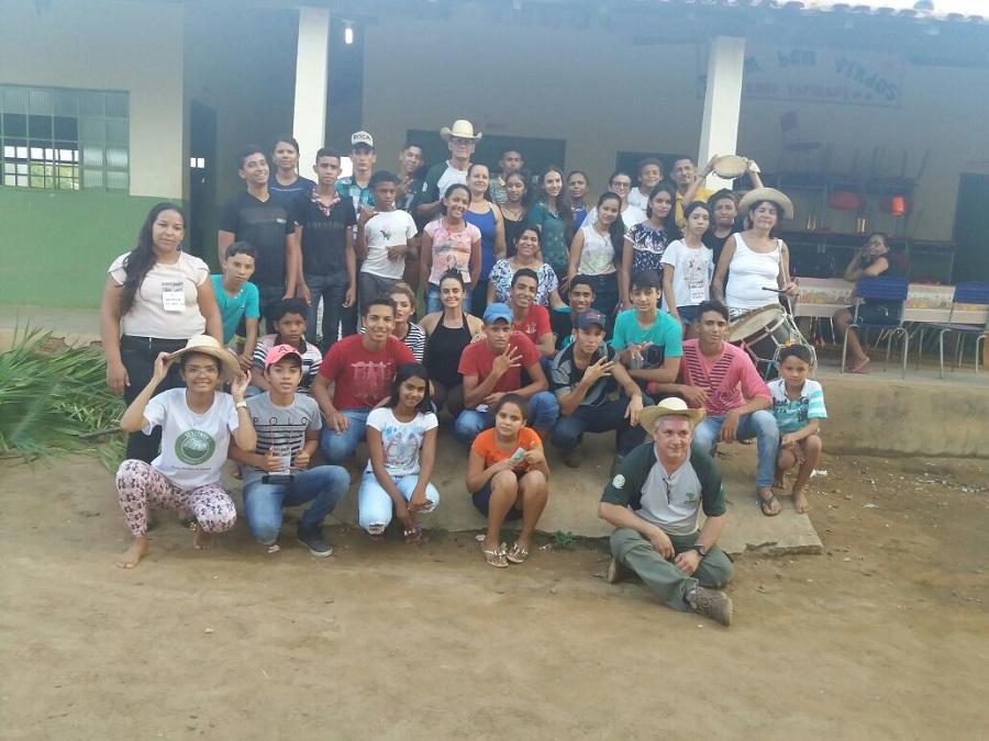 Projutapirapé reúne jovens do entorno da Rebio Tapirapé