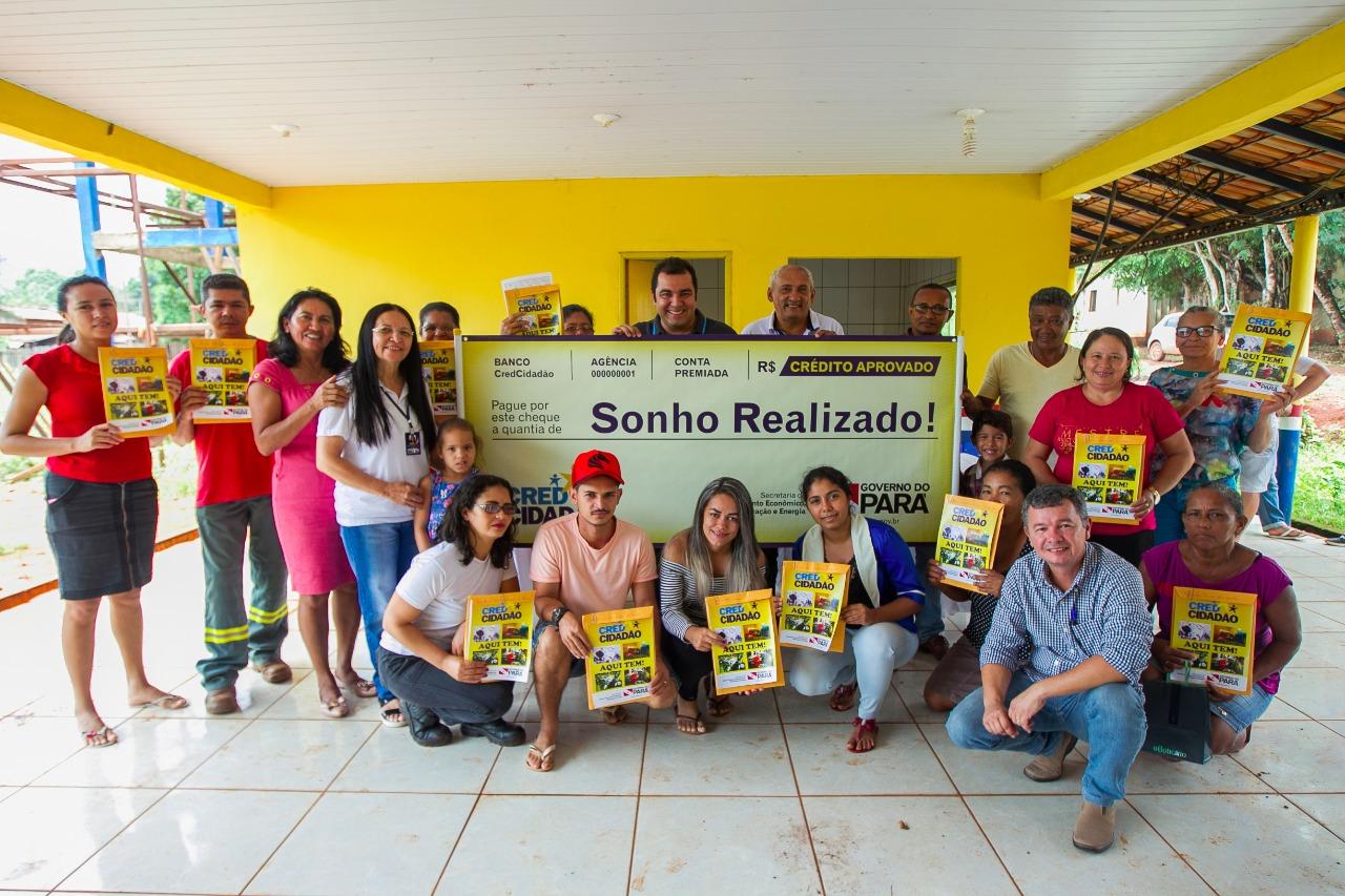 Microempreendedores de Serra Pelada recebem incentivo do governo estadual