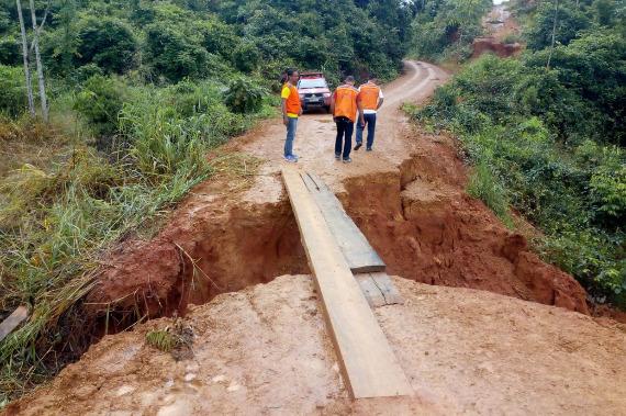 Defesa Civil presta apoio ao município de Itupiranga