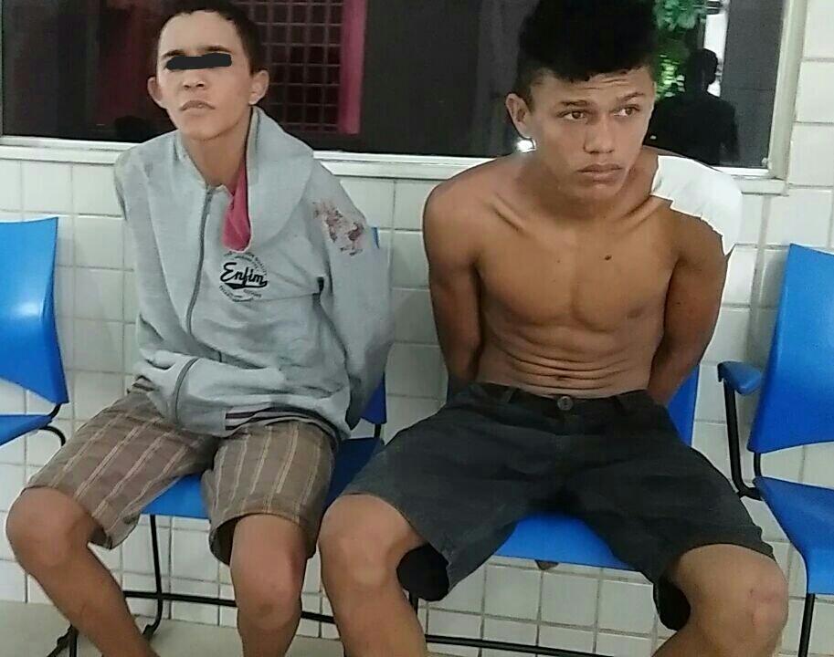 Assaltantes da Biz azul são presos em Parauapebas