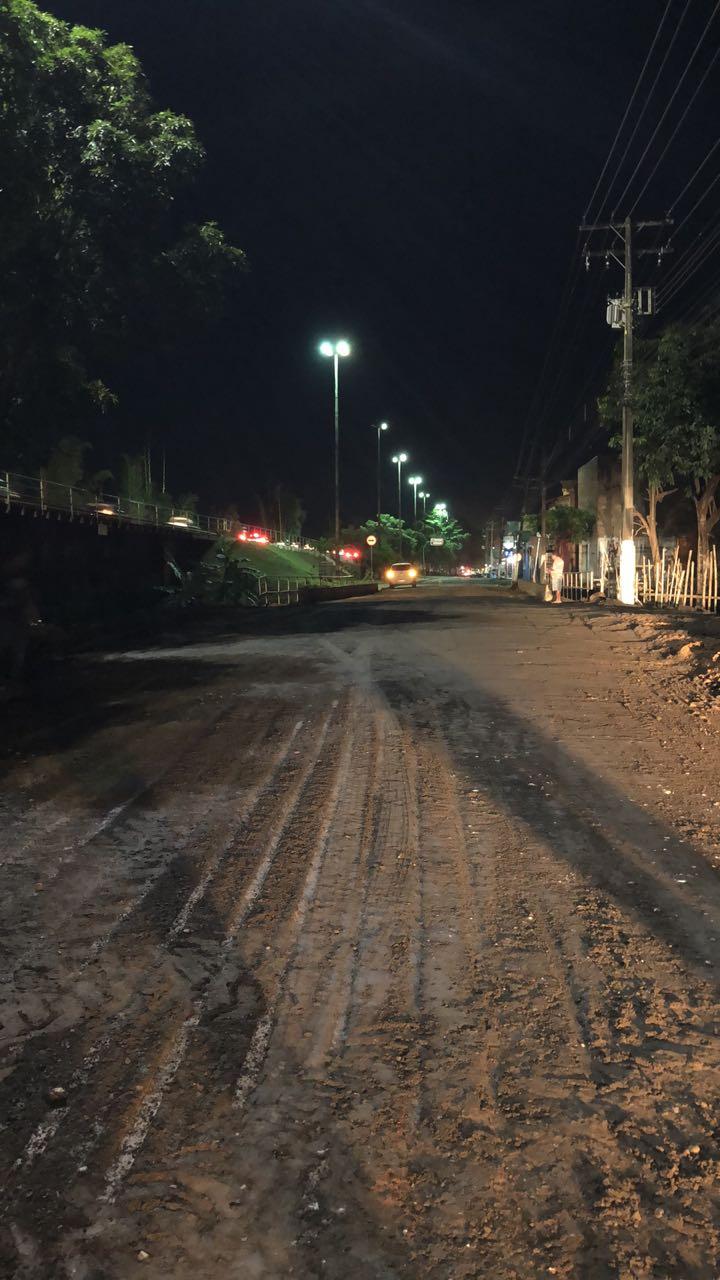 Ponte da Avenida Liberdade é reparada e via está liberada para tráfego de veículos