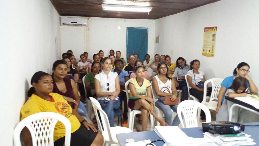 Profissionais de Saúde de Curionópolis são capacitados para campanha de vacina