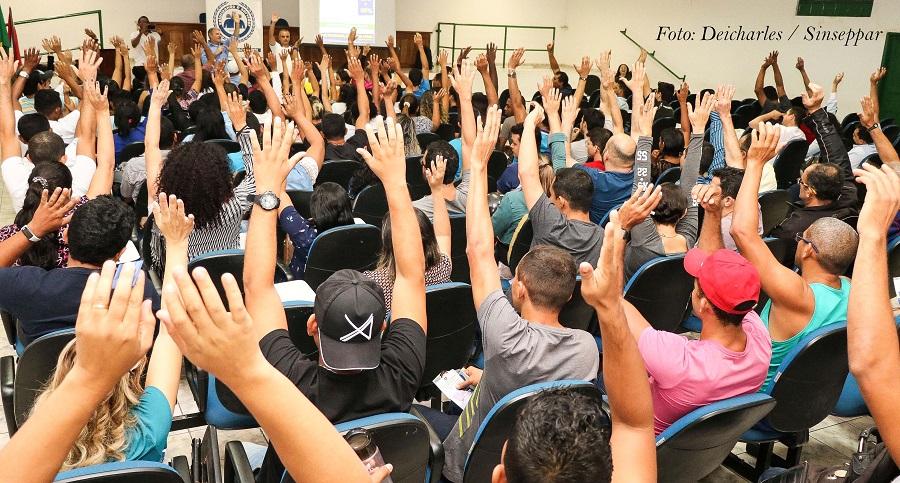 Servidores Públicos de Parauapebas recusam proposta do governo de reajuste salarial
