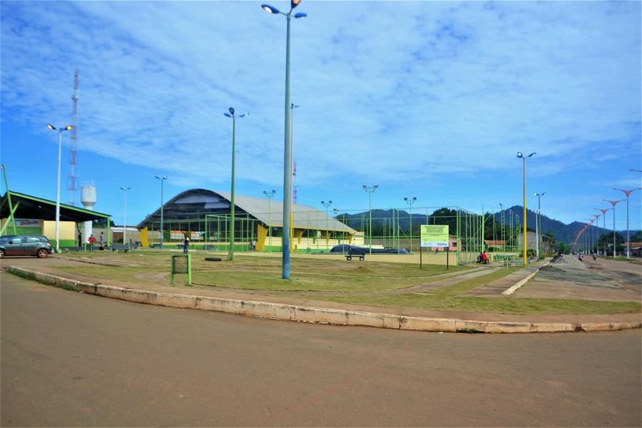 Praça da Juventude é revitalizada em Curionópolis