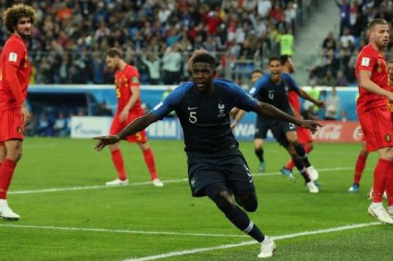 França está na final da Copa 2018