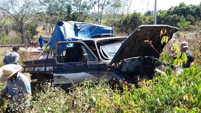 Em Parauapebas, vendedor de melancia perde o controle de D-20 e morre após acidente