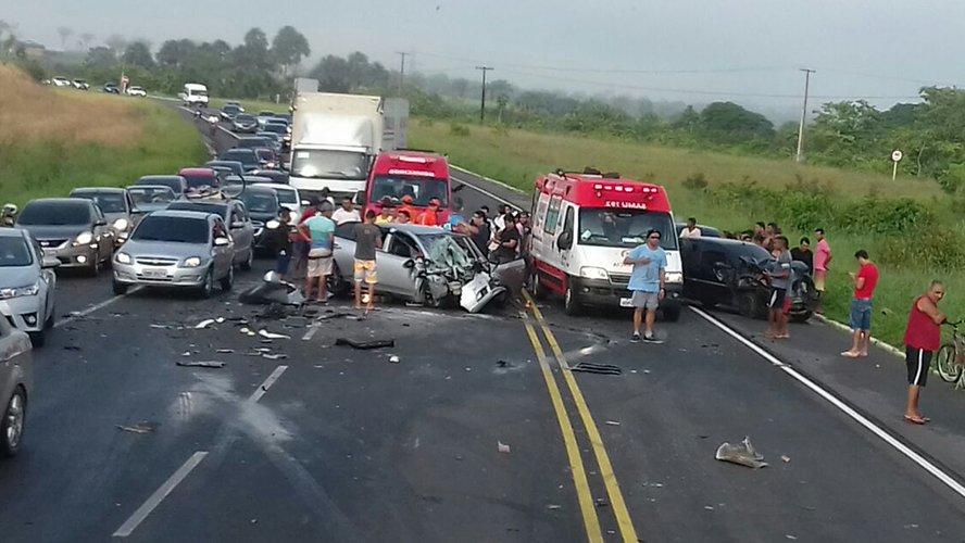 Sete já morreram nas estradas paraenses em julho