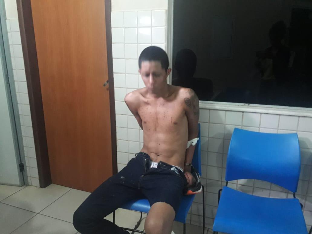 """População captura assaltante na Nova Carajás e quase o mata de uma """"surra"""""""