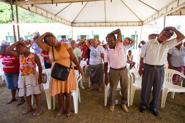 Idosos de Curionópolis são beneficiados com atendimento social