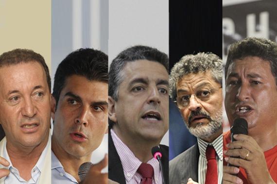 Governo: Helder tem 43% das intenções; Paulo Rocha, 13%; e Márcio Miranda, 11%
