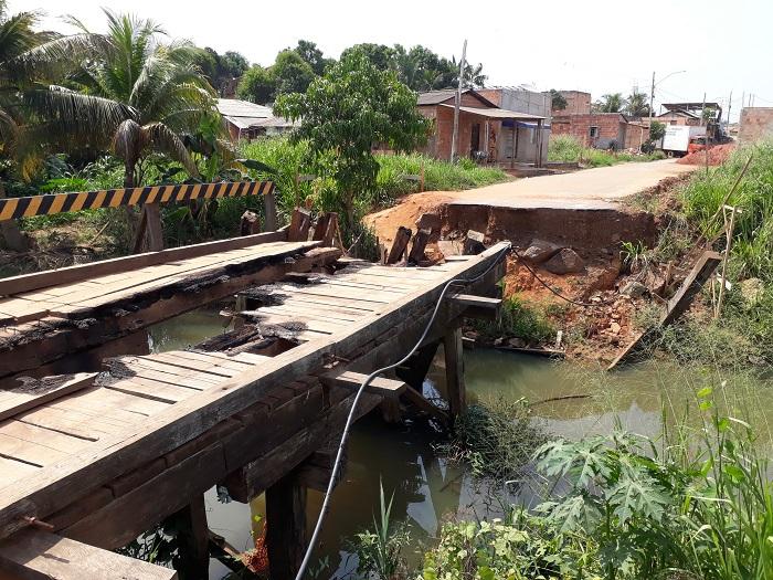 Moradores do bairro Novo Brasil denunciam abandono do poder público