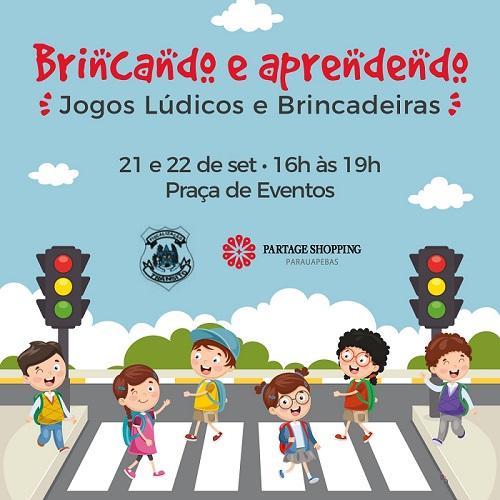 Partage Shopping Parauapebas promove evento sobre conscientização no trânsito
