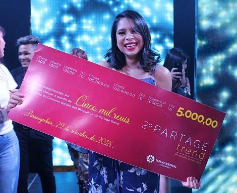 Loide Abreu é a vencedora da primeira Batalha dos Blogueiros do Partage Shopping
