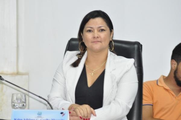 Vereadora retira indicação da pauta de discussão na Câmara de Parauapebas