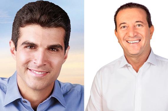 Hélder lidera com 58% dos votos válidos contra 42% de Marcio Miranda