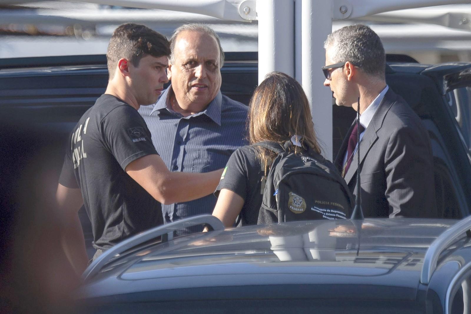 Lava Jato prende o governador Luiz Fernando Pezão do RJ