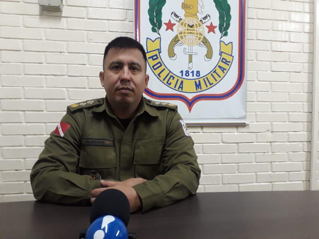 Major Gledson fala da satisfação de retornar para Parauapebas e das ações a serem desencadeadas