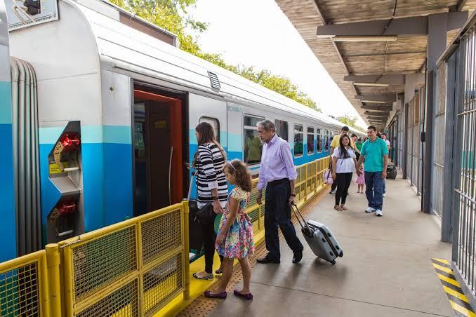 Mulher morre dentro do trem de passageiros da Vale que saiu de Parauapebas
