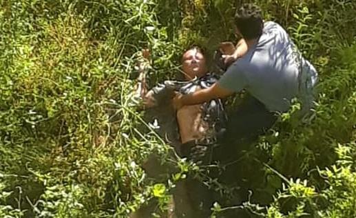Vídeo: Homem se atira de ponte em Marabá, mas não morre