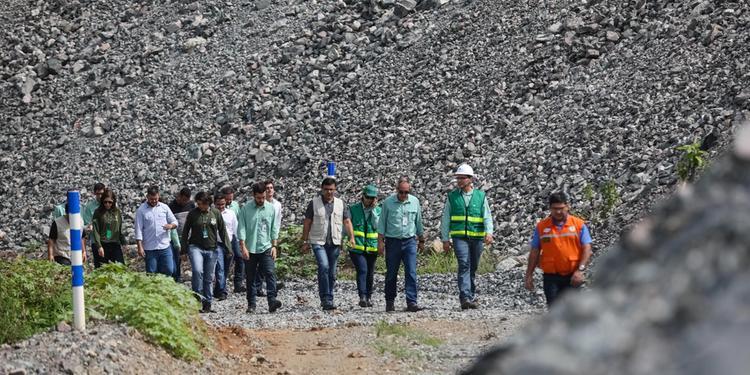 Força-tarefa do Estado vistoria barragem da Vale na Mina do Sossego