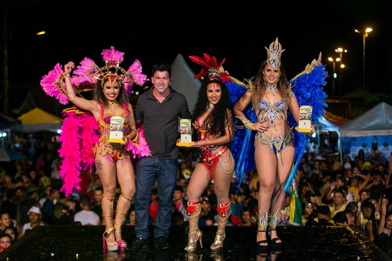 Encerramento do carnaval em Curionópolis foi com concurso de musa carnavalesca