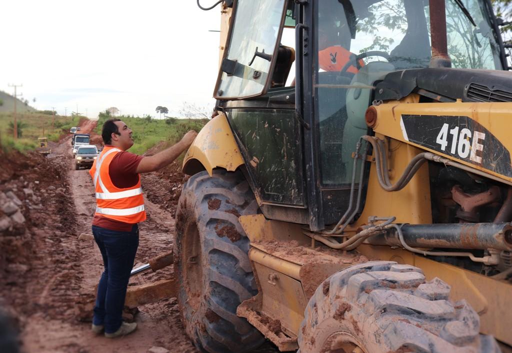 Prefeitura de Curionópolis interdita o trânsito de caminhões para recuperação de estradas