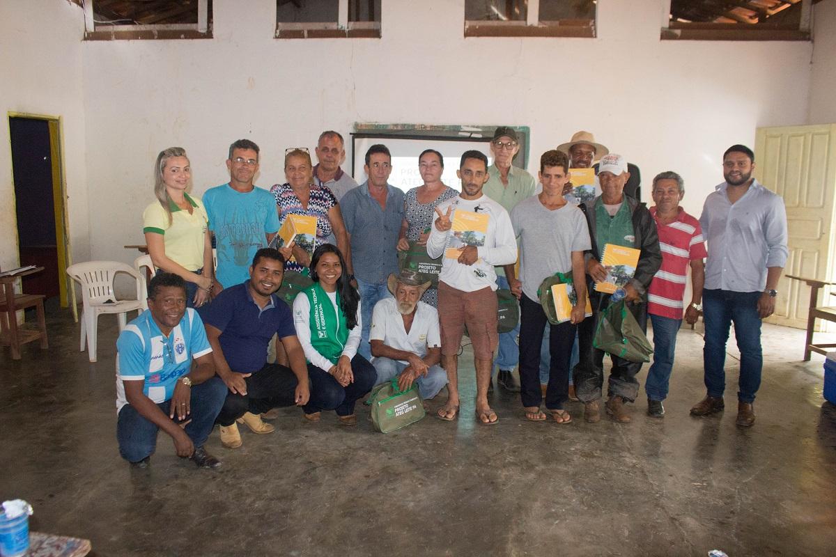 Produtores de Leite em Curionópolis receberão assistência técnica continuada