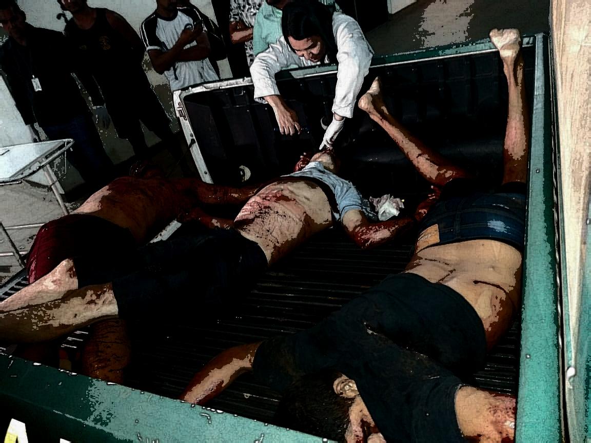 Três assaltantes de caminhonetes tombam mortos em confronto com a PM em Canaã