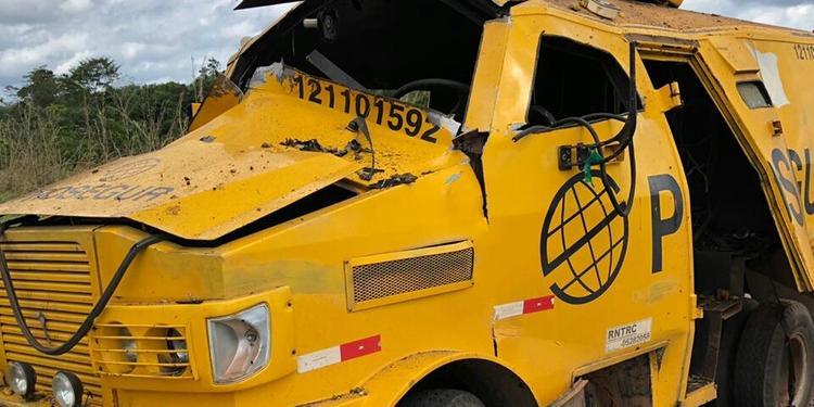 Bando explode carro-forte entre Rondon do Pará e Abel Figueiredo