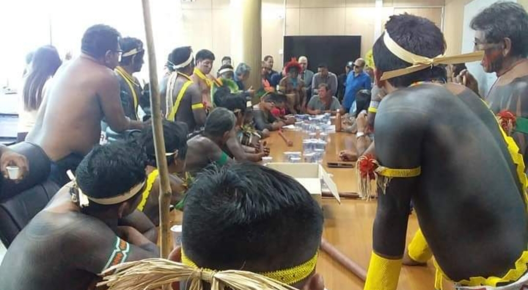 Prefeitura de Parauapebas emite nota sobre ocupação dos índios ao prédio