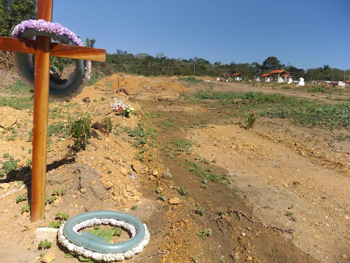 Em Parauapebas, cemitério da Faruk Salmen pode ser desativado em dezembro