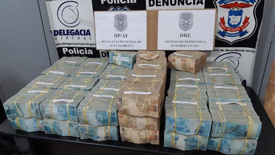 No Pará, polícia apreende mais de 4 milhões que serviriam para compra de ouro