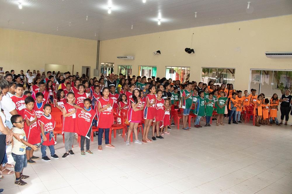 Alunos de Serra Pelada participam de Colônia de Férias