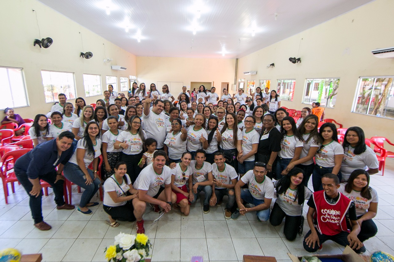 Participação de alunos da zona urbana de Curionópolis encerra programação da Colônia de Férias