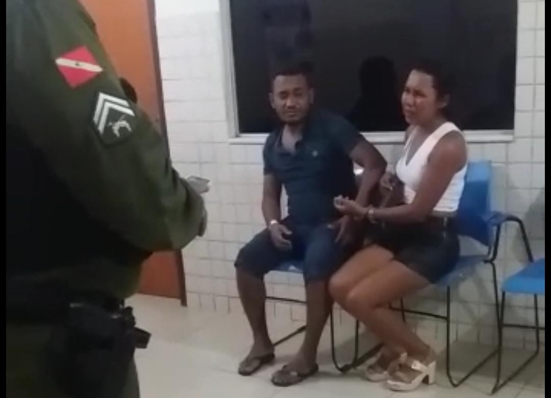 Em Parauapebas, homem apanha da mulher, mas ele é quem vai preso