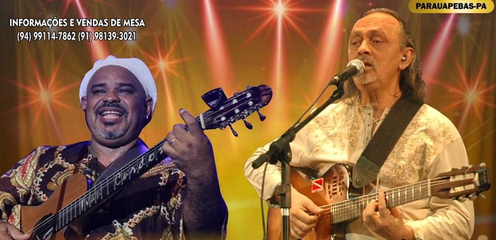 Nesta sexta-feira (16) tem Nilson Chaves e Ivan Cardoso com o show Cantoria Amazônica