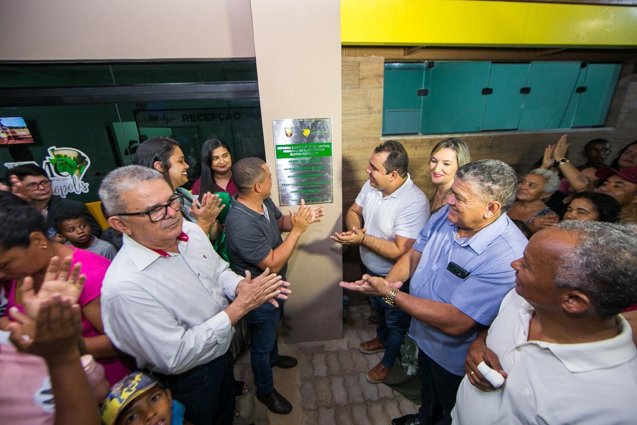Curionópolis comemora a entrega do Hospital e mais quatro obras