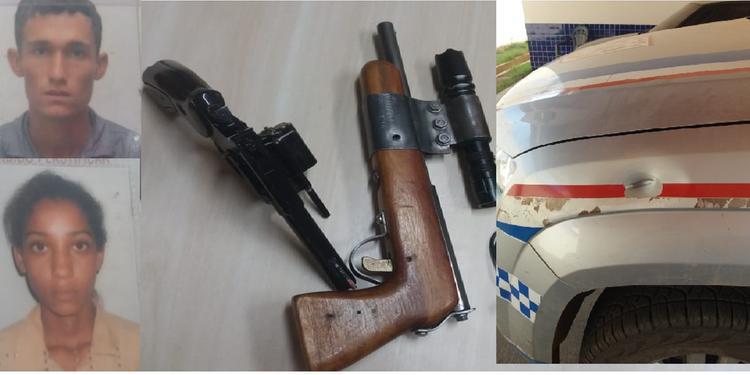 No Pará, homem rouba carro, dispara contra a polícia, mata ex-namorada e comete suicídio