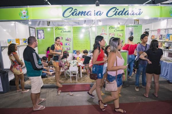 Biblioteca Legislativa participa do I Festival Literário de Parauapebas