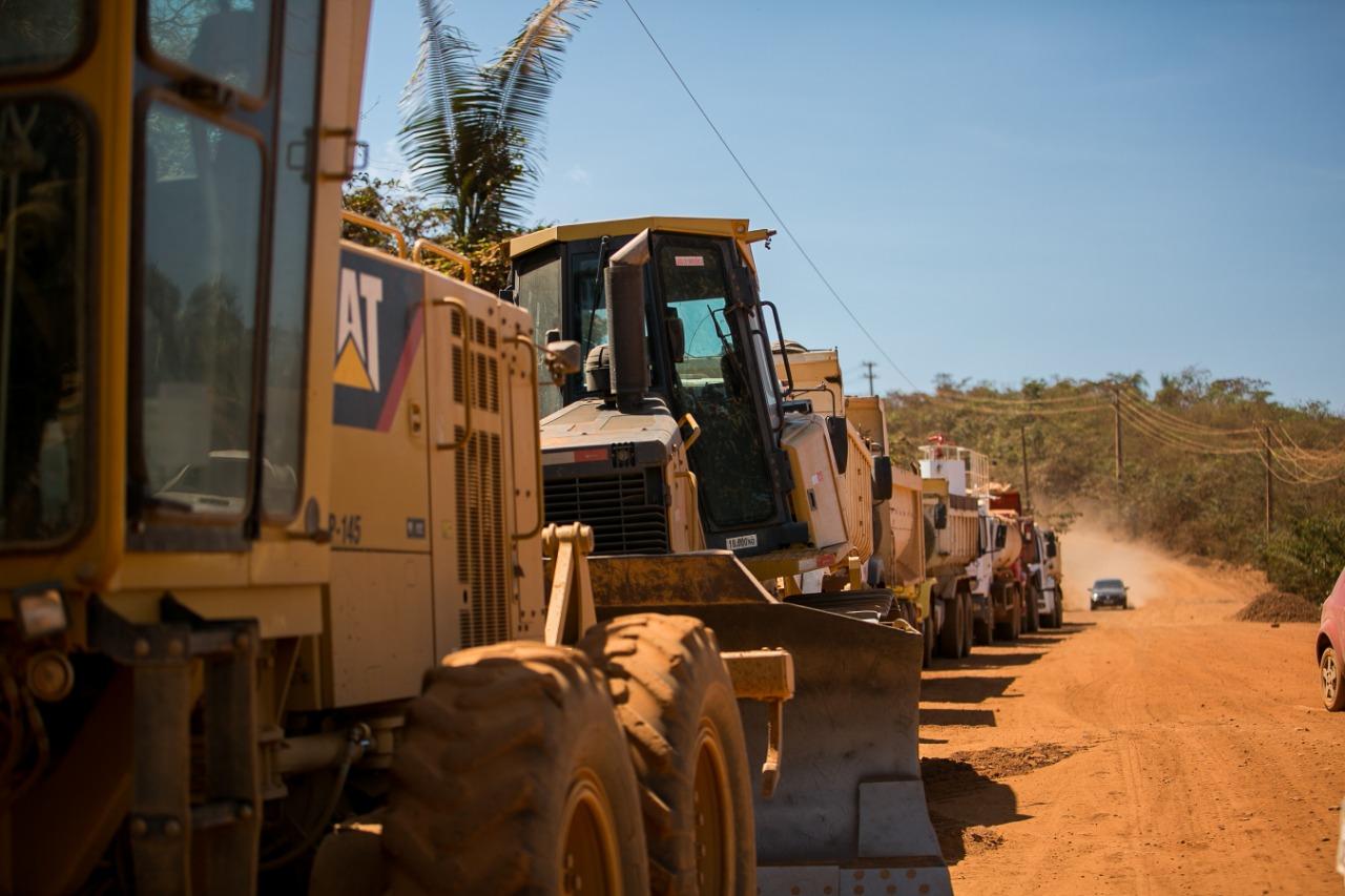 Prefeitura de Curionópolis inicia recuperação da estrada de Serra Pelada