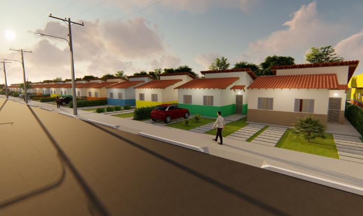Construção de 250 casas marca o início do programa de saneamento ambiental em Parauapebas