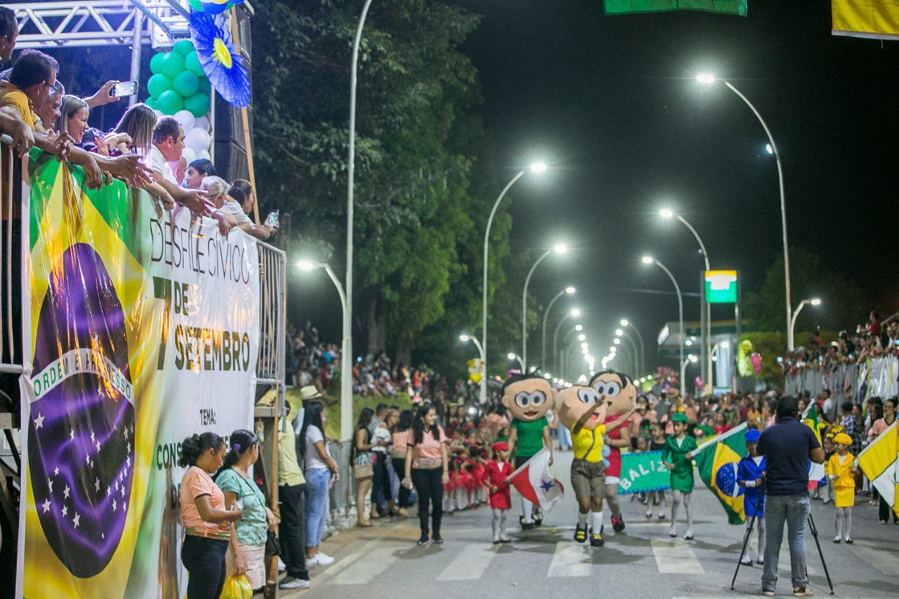 Curionópolis prestigia grande Desfile Cívico