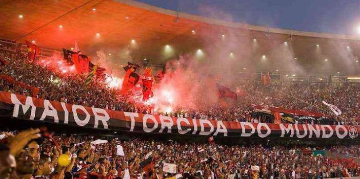 Torcida do Flamengo é a maior do Brasil, diz pesquisa Datafolha
