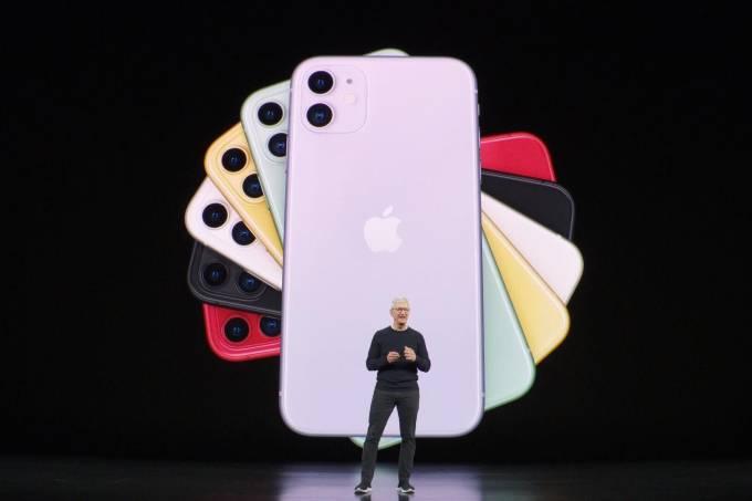 Apple lança iPhone 11 em três versões
