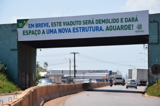 """Viaduto em Parauapebas será demolido e a entrada da cidade terá """"nova cara"""""""