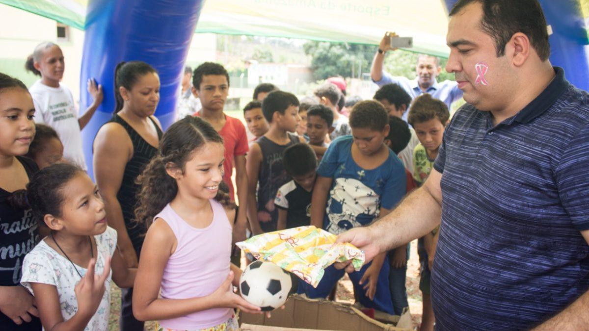 Assistência Social realiza Dia de Recreação para crianças em Curionópolis