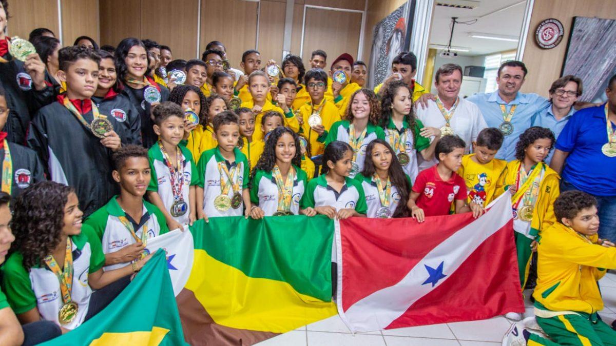 Karatecas de Parauapebas são medalhistas em Campeonato Mundial de Karatê