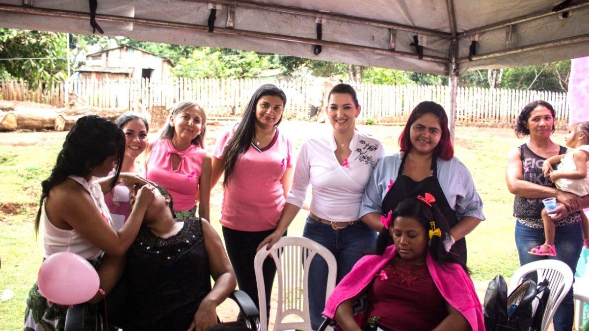 Prefeitura promove ação do Outubro Rosa em Serra Pelada