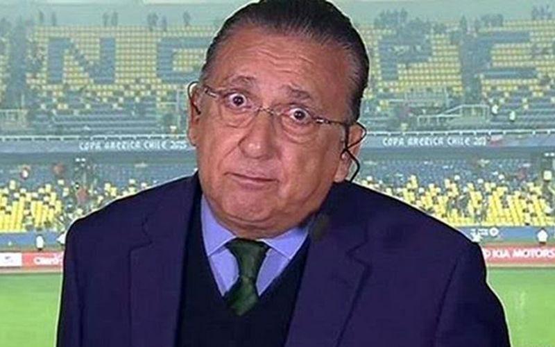 Galvão Bueno passa por cirurgia às pressas no Peru e não irá narrar final da Libertadores